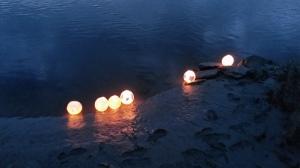 lanterns on the dyfi